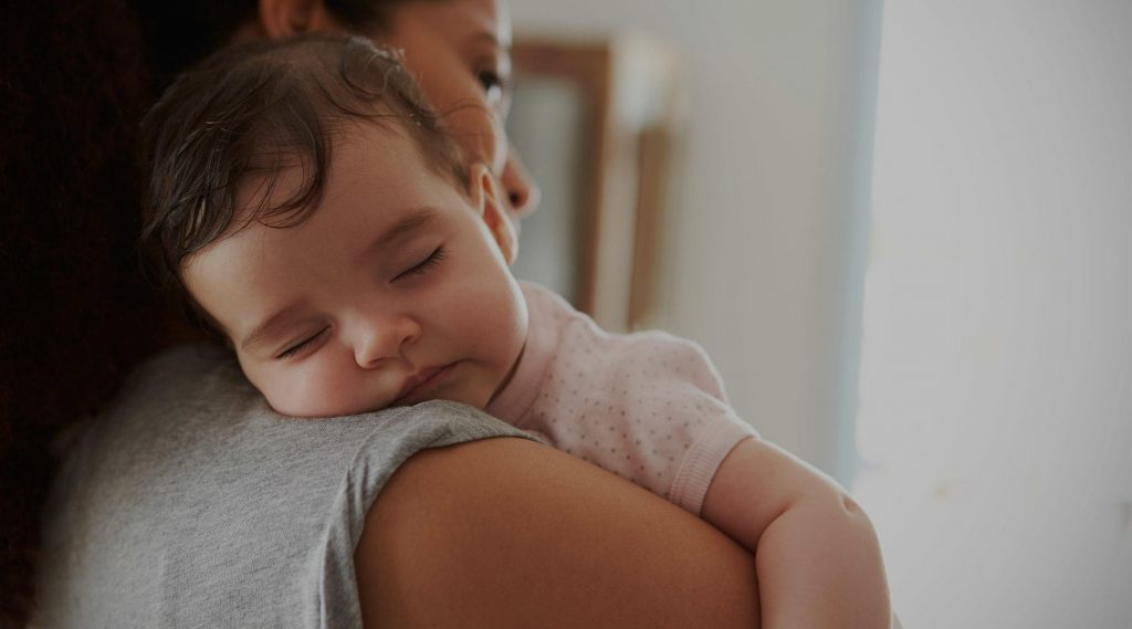 Baby sleeping training tips