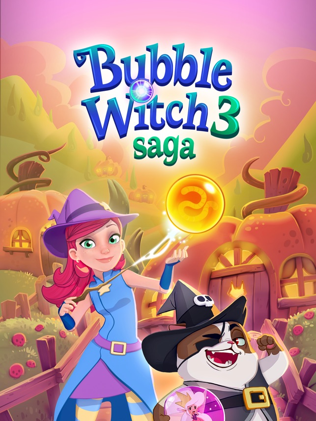 Bubble Witch 3 Saga Solutions